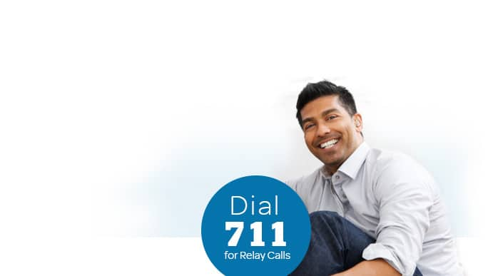 Dial 711 for Relay calls