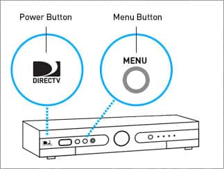 Power and menu button