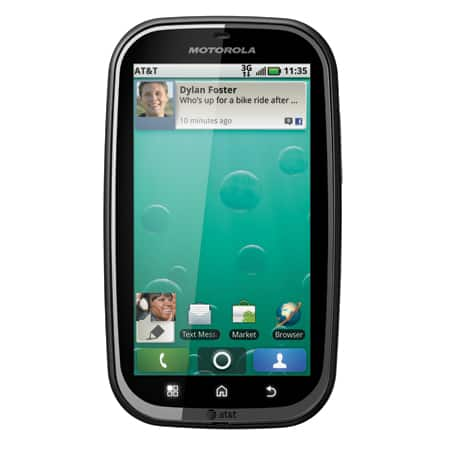 Motorola Bravo (MB520) Cell Phone Reviews
