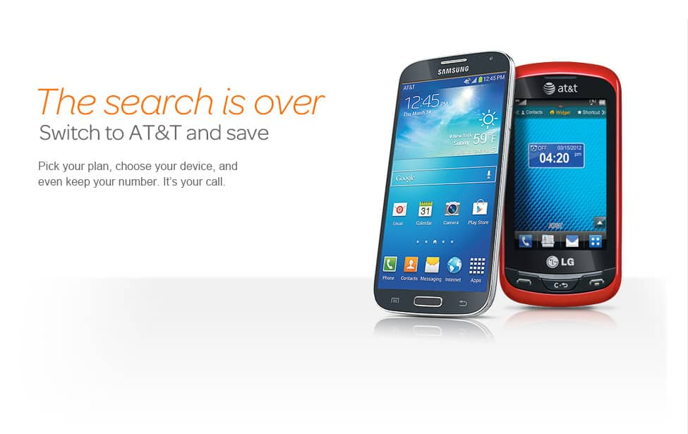 Switch to AT&T, keep your number, and save