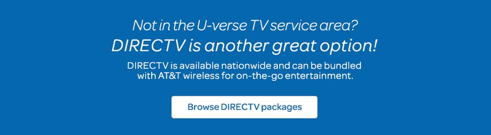 Browse DIRECTV packages