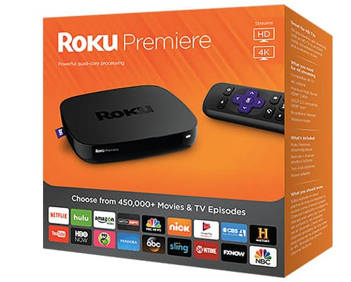 Roku Premiere Streaming Media Player