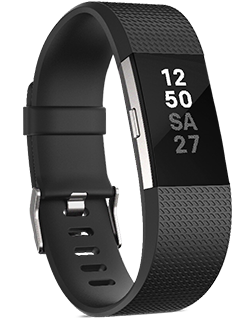 Fitbit Charge 2 - Large - Black