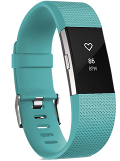 Fitbit Charge 2 - Large - Teal