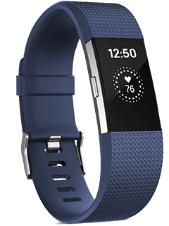 Fitbit Charge 2 - Small - Blue