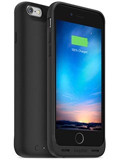 mophie Juice Pack Reserve Black Charging Case - iPhone 6/6s