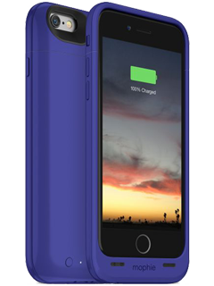 mophie Juice Pack Air Purple Charging Case - iPhone 6/6s