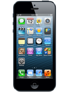 Apple iPhone 5 - 16GB - Black (Certified Restored)