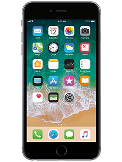 Apple iPhone 6s Plus - AT&T PREPAID ($399.99 + $45 account credit) - Space Gray