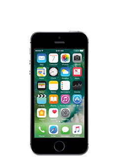 iPhone SE 32GB ($199.99 + $45 payment for service) - Space Gray