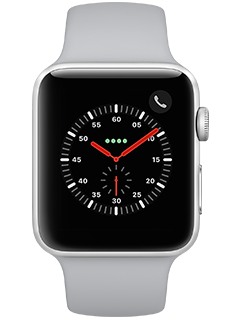 Apple Watch Series 3 - Silver Aluminum  - Fog Sport - 42 mm