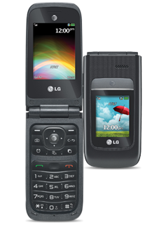 LG A380 - Black (Certified Restored)