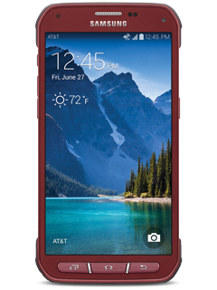 Samsung Galaxy S5 Active - Ruby Red