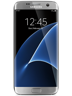 Samsung Galaxy S7 edge – Silver Titanium (AT&T Certified Pre-Owned)