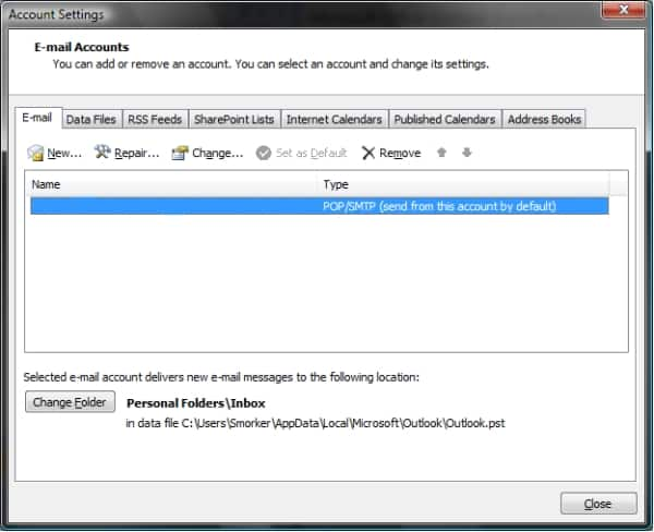 Bellsouth Email Settings For Windows Live Mail