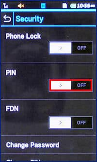 Lock or Unlock the Pantech Laser (P9050) Tutorials for Pantech Laser