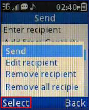 how to delete text messages from alcatel phone
