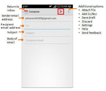 how to get a gmail account off your phone