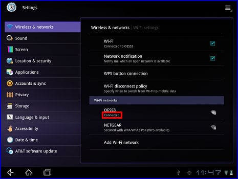 how to connect element tv to wifi