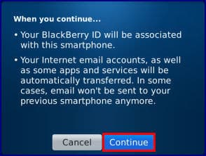 BlackBerry Bold 9900 - Sign In to a BlackBerry ID Account with a RIM