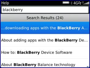 Use Universal Search with the RIM BlackBerry Bold 9900 - Wireless