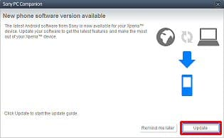 Update the Software with the Xperia ion by Sony (LT28at) Tutorials
