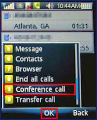 at&t conference call instructions