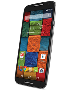 Moto X (2nd Generation) Black / Black Leather