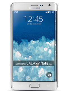 Samsung Galaxy Note Edge - Frost White